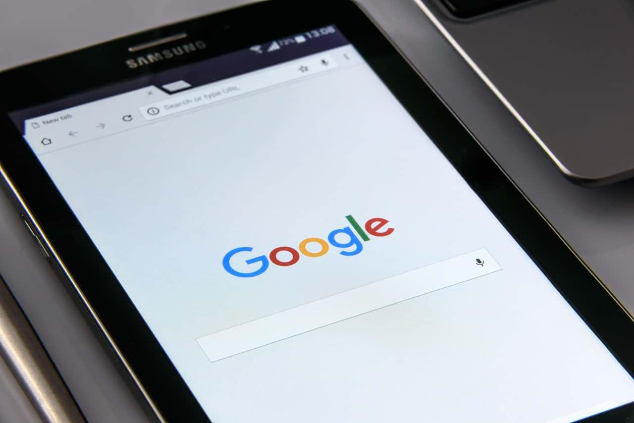 Google Tablet Suche